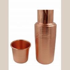 Bimala Copper Bottle/Tumbler Set