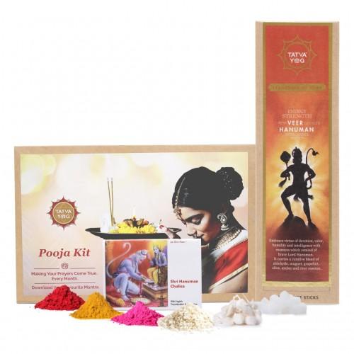Monthly Pooja Kit - Veer Hanuman