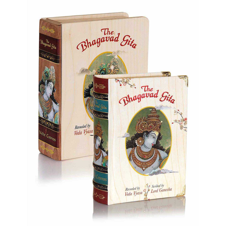 Buy Bhagavad Gita with Wooden Case Online - Tatva Yog