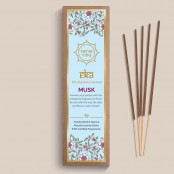 Tatva Yog - Eka - Musk Handcrafted and Natural Masala Incense Sticks (Pack of 30 Sticks)