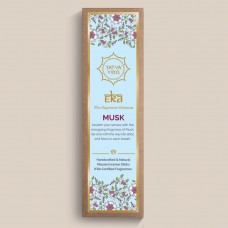 Tatva Yog - Eka - Musk Handcrafted and Natural Masala Incense Sticks (Pack of 30 Sticks)