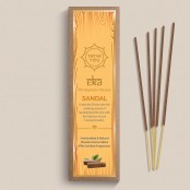 Tatva Yog - Eka - Sandal Handcrafted and Natural Masala Incense Sticks (Pack of 30 Sticks)
