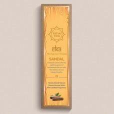 Tatva Yog - Eka - Sandal Handcrafted and Natural Masala Incense Sticks (Pack of 30 Sticks)