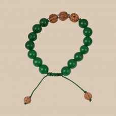 Deep Green Memory Bracelet