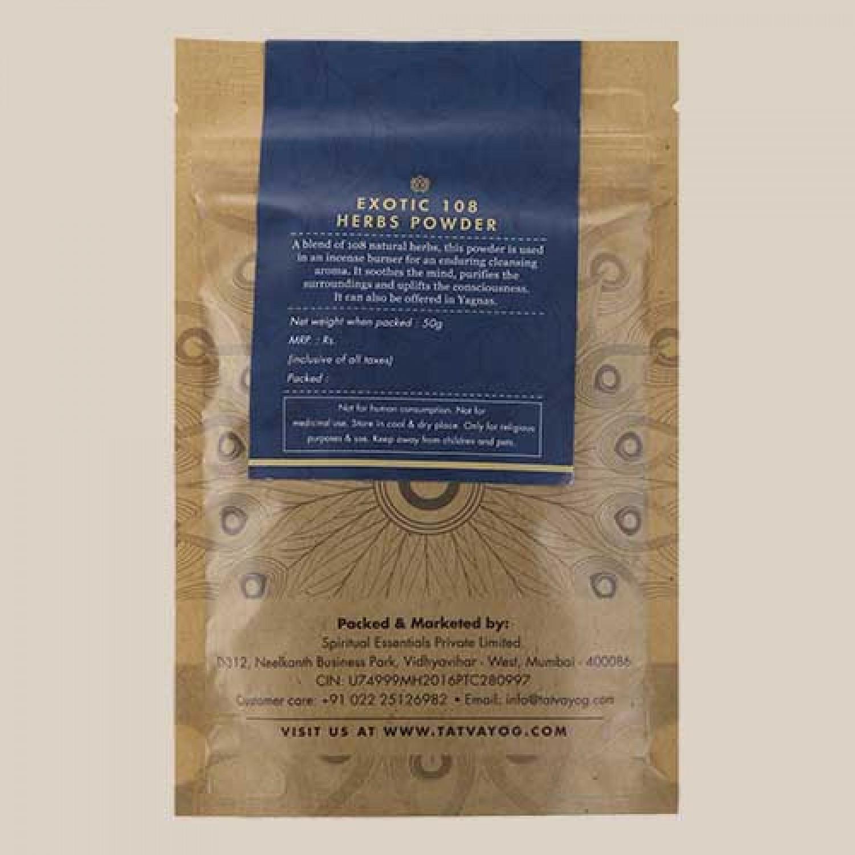 Exotic 108 Herbs Powder