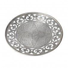 Onir Candle Base Antique Silver